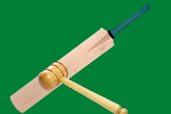Reduce weight of cricket bat