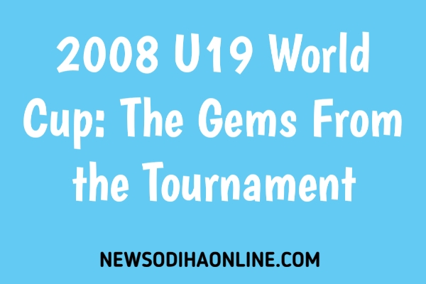 U19 world cup 2008