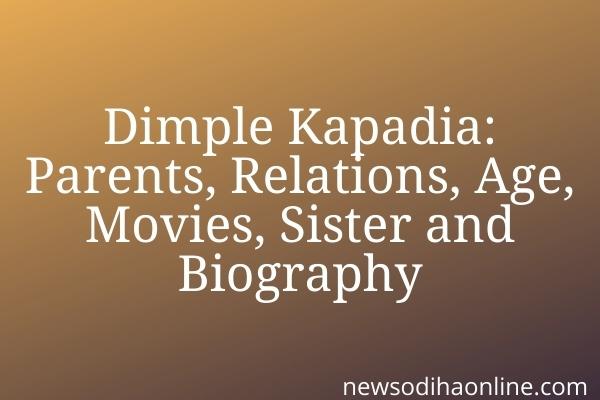dimple kapadia